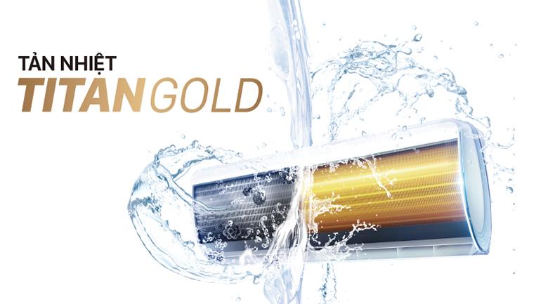 Dàn tản nhiệt TitanGold - Máy lạnh TCL 1HP TAC-N09CS/XA21