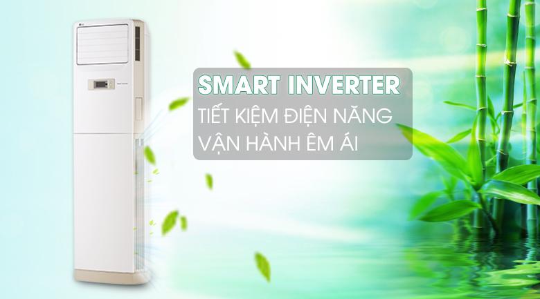 Công nghệ Smart Inverter - Máy lạnh Tủ đứng LG Inverter 2.5 HP APNQ24GS1A3