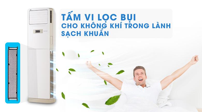 Tấm vi lọc bụi - Máy lạnh Tủ đứng LG Inverter 2.5 HP APNQ24GS1A3