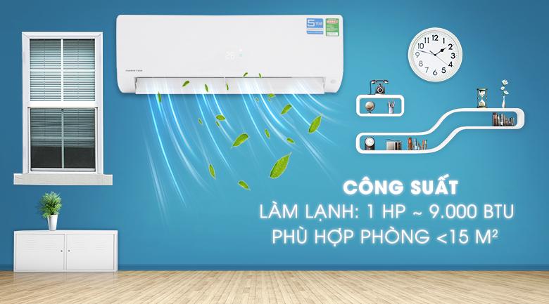 Máy lạnh Aqua Inverter 1 HP AQA-KCRV9F