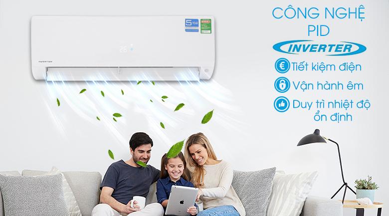 Công nghệ PID Inverter - Máy lạnh Aqua Inverter 1 HP AQA-KCRV9F