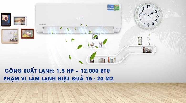 Máy lạnh Aqua Inverter 1.5 HP AQA-KCRV12F