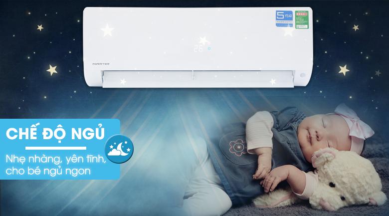 Chế độ ngủ đêm - Máy lạnh Aqua Inverter 1.5 HP AQA-KCRV12F