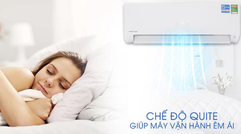 Chế độ Quite - Máy lạnh Aqua Inverter 1.5 HP AQA-KCRV12F