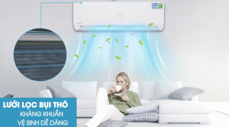 Lưới lọc bụi thô - Máy lạnh Aqua Inverter 2 HP AQA-KCRV18F