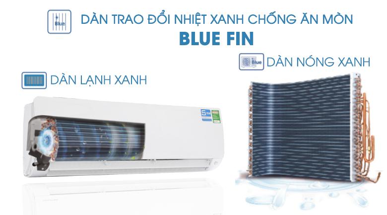 Dàn trang đổi nhiệt chống ăn mòn - Máy lạnh Aqua Inverter 2 HP AQA-KCRV18F
