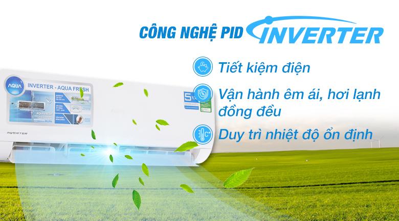 Công nghệ Inverter - Máy lạnh Aqua Inverter 2 HP AQA-KCRV18WJB