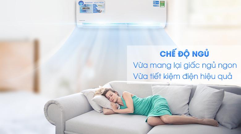 Chế độ ngủ - Máy lạnh Aqua Inverter 2 HP AQA-KCRV18WJB