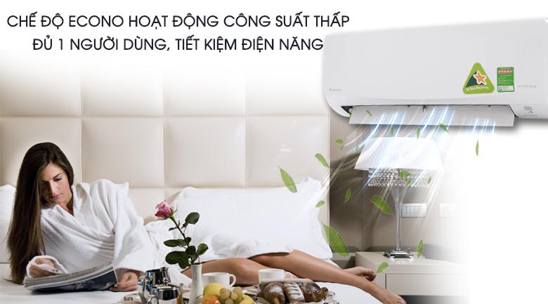 Chế độ Econo - Máy lạnh Daikin Inverter 2 HP FTKQ50SVMV