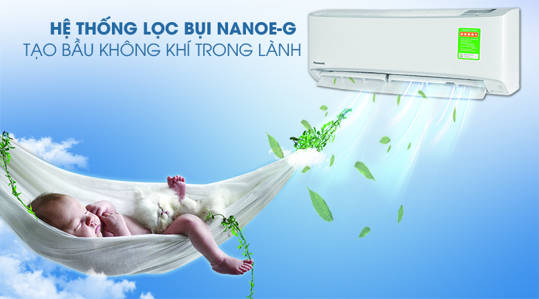 Bộ lọc Nanoe-G - Điều hòa 2 chiều Panasonic 9000 BTU CU/CS-YZ9UKH-8