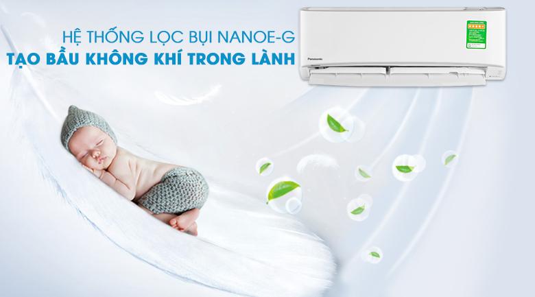 Lọc sạch không khí cùng Nanoe-G - Điều hòa 2 chiều Panasonic 11900 BTU CU/CS-YZ12UKH-8