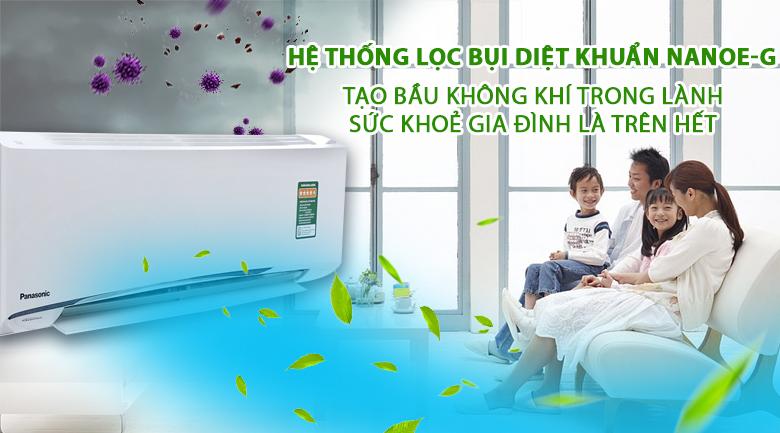 Kháng khuẩn, khử mùi - Máy lạnh 2 chiều Panasonic 2 HP CU/CS-YZ18UKH-8