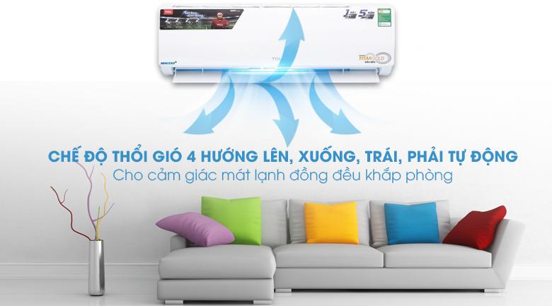 Công nghệ đảo gió 3D - Máy lạnh TCL 2 HP TAC-N18CS/XA21