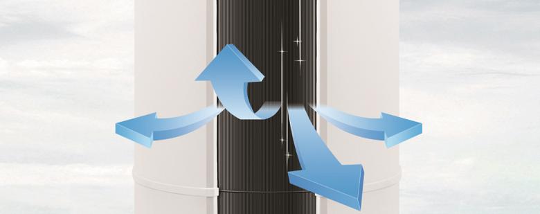 Gió 3D - Điều hòa tủ đứng 2 chiều Aqua Inverter 24.600 BTU AQA-FCHV24C