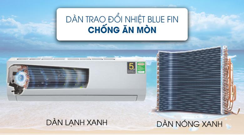 Blue Fin - Máy lạnh Aqua Inverter 2 HP AQA-KCRV18WNZ Mẫu 2019
