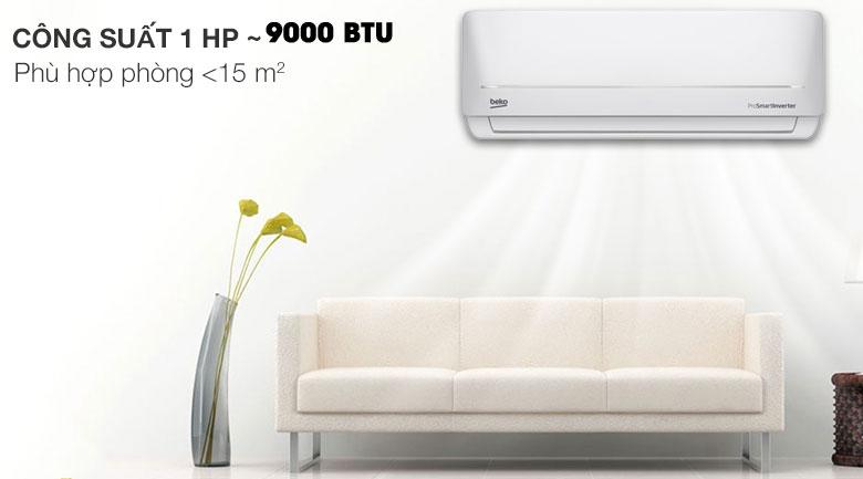 Máy lạnh Beko Inverter 1 HP RSVC09VS