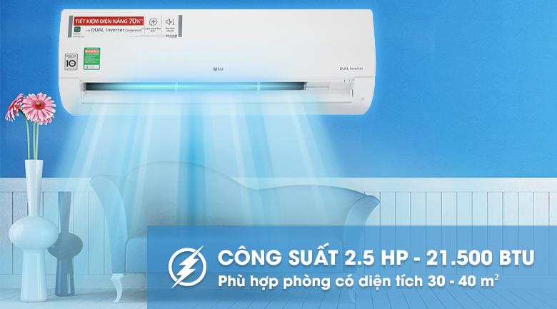 Máy lạnh LG Inverter 2.5 HP V24ENF