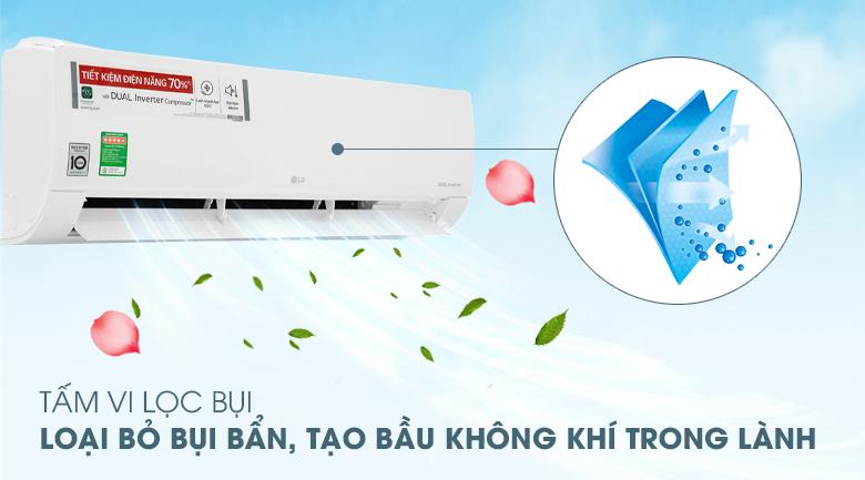 Tấm vi lọc bụi - Máy lạnh LG Inverter 2.5 HP V24ENF