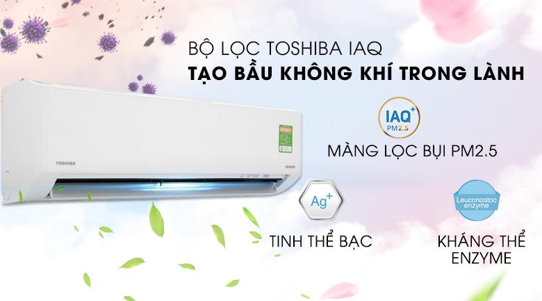 Công nghệ kháng khuẩn IAQ - Máy lạnh Toshiba Inverter 1 HP RAS-H10D1KCVG-V