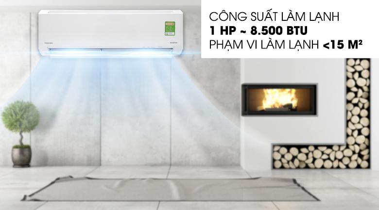 Điều hòa Toshiba Inverter 8500 BTU RAS-H10D1KCVG-V