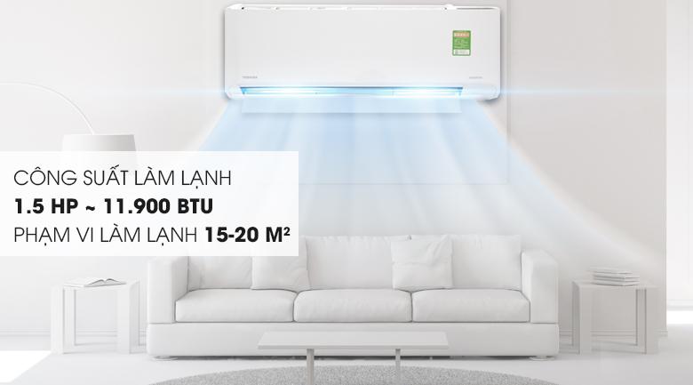 Máy lạnh Toshiba 1.5 HP RAS-H13C1KCVG-V