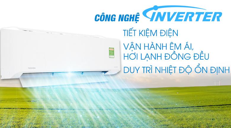 DC Hybrid Inverter - Điều hòa Toshiba 11900 BTU RAS-H13C1KCVG-V