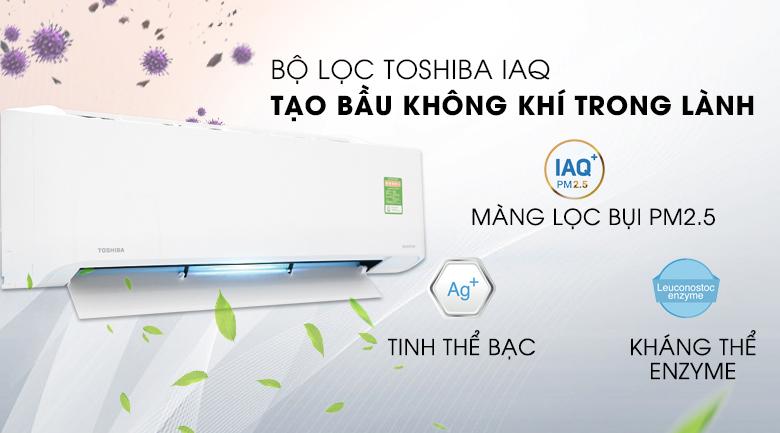 Bộ lọc IAQ - Máy lạnh Toshiba 1.5 HP RAS-H13C1KCVG-V