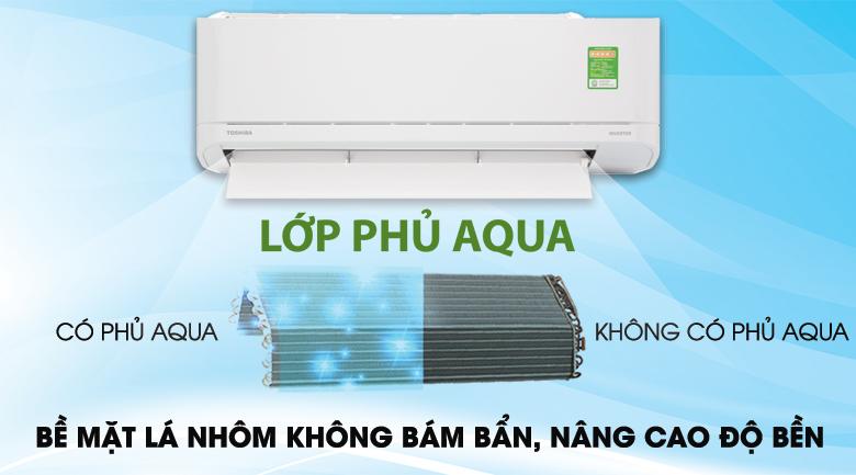 Công nghệ chống bám bẩn Magic Coil - Máy lạnh Toshiba Inverter 1 HP RAS-H10XKCVG-V