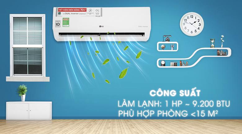 Máy lạnh LG Inverter 1 HP V10ENH