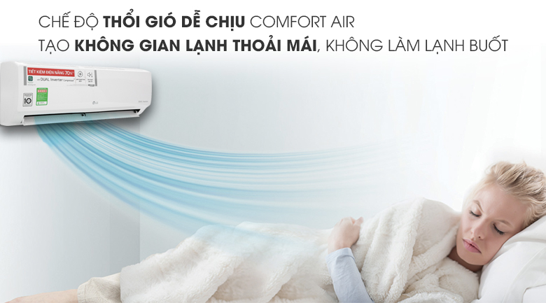 Comfort Air - Máy lạnh LG Inverter 1 HP V10ENH