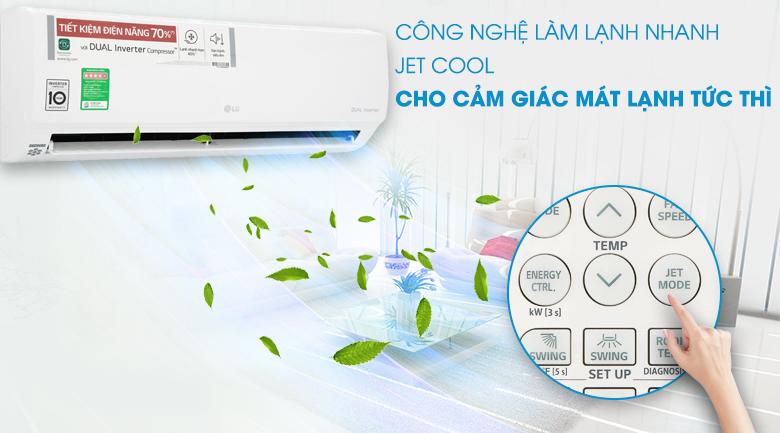 Jet Cool - Máy lạnh LG Inverter 1 HP V10APH