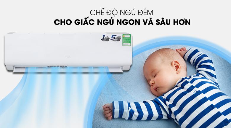 Máy lạnh TCL TAC-N09CS/KC41 - Chế độ ngủ đêm