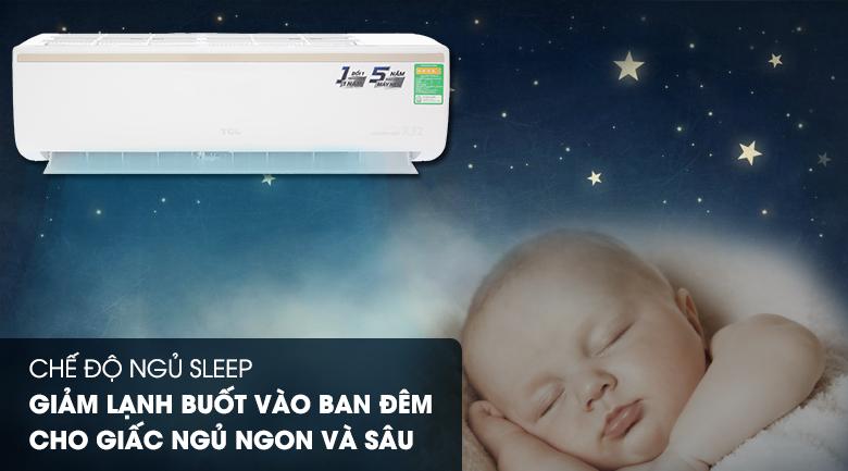 Chế độ ngủ đêm - Máy lạnh TCL Inverter 1 HP TAC-10CSI/KE88N