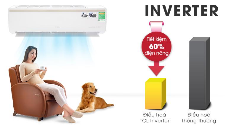 Công nghệ Inverter - Máy lạnh TCL Inverter 1 HP TAC-10CSI/KE88N