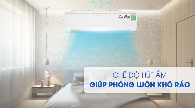 Chức năng hút ẩm - Máy lạnh TCL Inverter 1 HP TAC-10CSI/KE88N