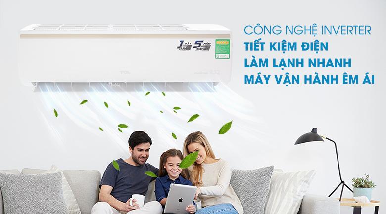 Inverter - Máy lạnh TCL Inverter 1.5 HP TAC-13CSI/KE88N