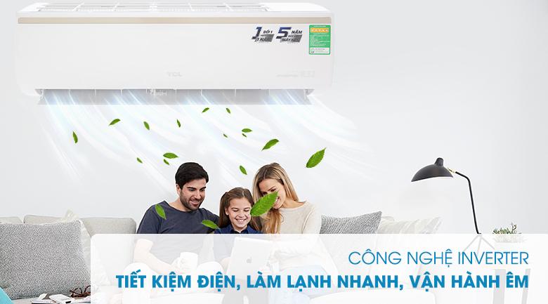 Công nghệ Inverter - Máy lạnh TCL Inverter 2 HP TAC-18CSI/KE88N