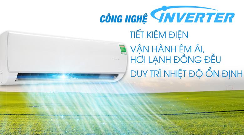 Công nghệ Inverter - Điều hòa Midea Inverter 13000 BTU MSAF-13CRDN8