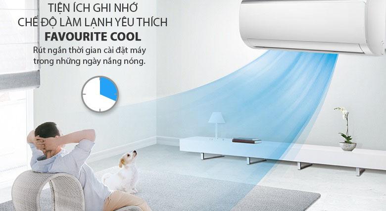 Favorite Cool - Máy lạnh Midea Inverter 1.5 HP MSFR-13CRDN8