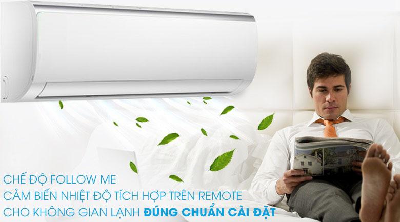 Follow Me - Máy lạnh Midea Inverter 1.5 HP MSFR-13CRDN8