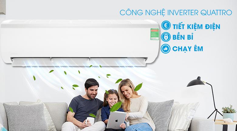 Công nghệ Inverter - Máy lạnh Midea Inverter 18000 BTU MSFR-18CRDN8 Mẫu 2019