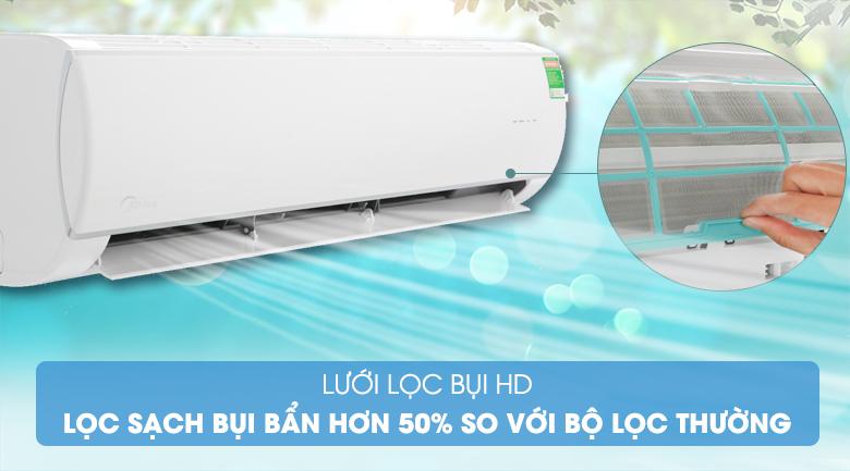 Lưới lọc bụi HD - Máy lạnh Midea Inverter 18000 BTU MSFR-18CRDN8 Mẫu 2019