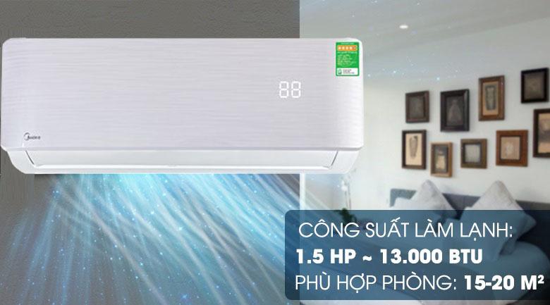 Máy lạnh Midea Inverter 1.5 HP MSAB-13CRDN8