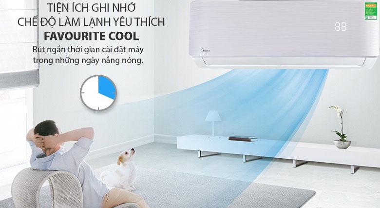 Favourite Cool - Máy lạnh Midea Inverter 1.5 HP MSAB-13CRDN8