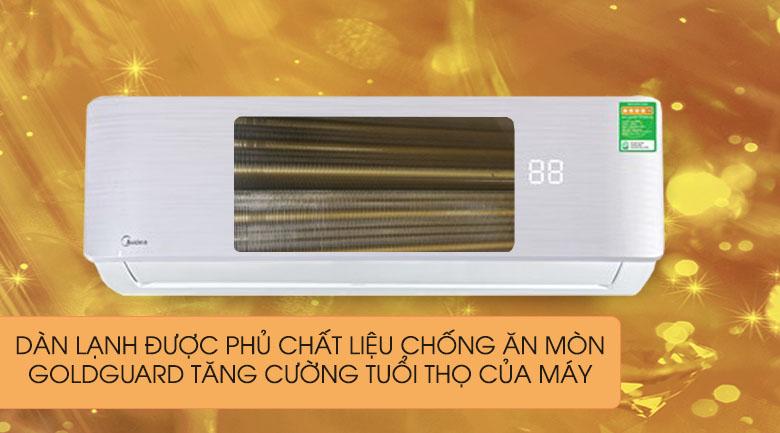 Chống ăn mòn dàn lạnh - Máy lạnh Midea Inverter 1.5 HP MSAB-13CRDN8