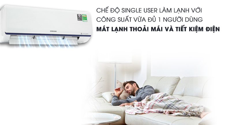 Single User - Máy lạnh Samsung Inverter 1.5 HP AR13RYFTAURNSV