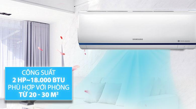 Máy lạnh Samsung Inverter 2 HP AR18RYFTAURNSV