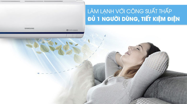 Single User - Máy lạnh Samsung Inverter 2 HP AR18RYFTAURNSV