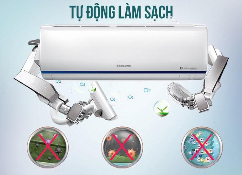 Tự làm sạch - Máy lạnh Samsung Inverter 2 HP AR18RYFTAURNSV