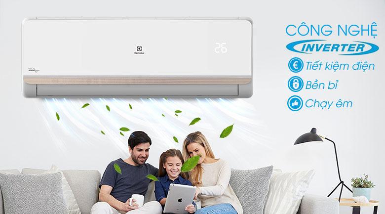 Công nghệ Inverter - Máy lạnh Electrolux Inverter 1 HP ESV09CRR-C2